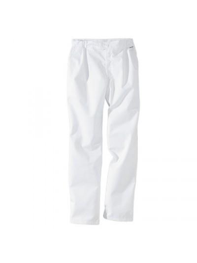 Pantalon de cuisine blanc
