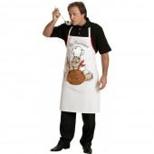 """Tablier à bavette """"Le cuisinier"""""""
