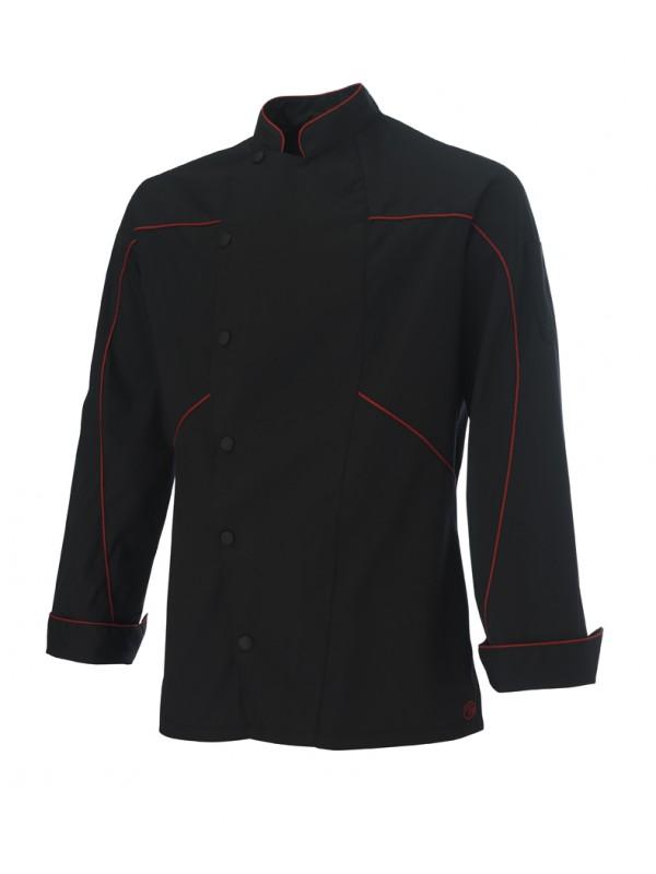 Veste de cuisine Azotshow noir