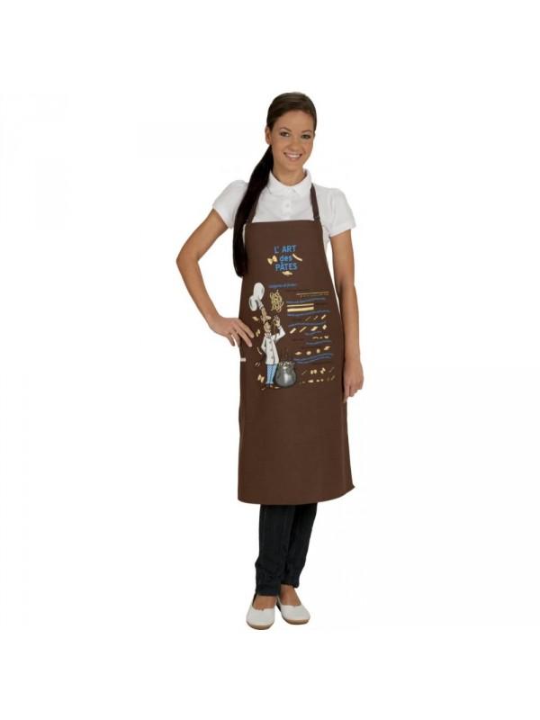 """Tablier cuisine """"l'art des pâtes"""""""