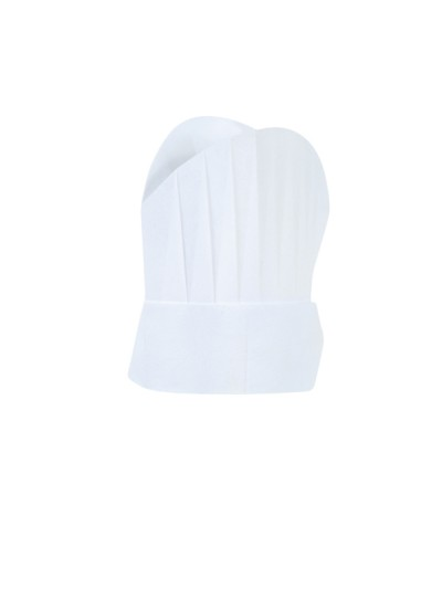Toque de cuisine COOKHAT ROBUR blanc TU Carton X 50