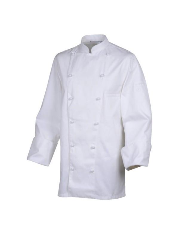 Veste de cuisine mixte ROBUR MONBLANC